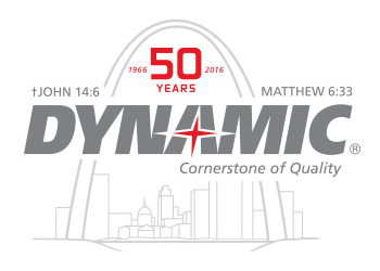Dynamic Sales' 50th anniversary logo