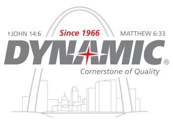 Dynamic Sales' 50th anniversary logo