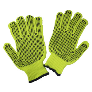 14395_String_Knit_with_PVC_dots_Hi_Viz_Lime